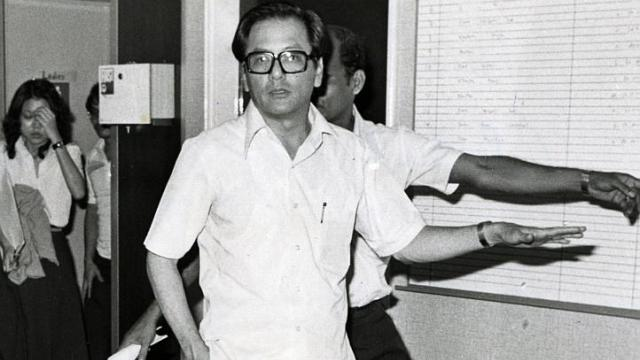 Phey Yew Kok in a photo taken on 3 December 1979, days before he had the charges read to him in court on 10 December