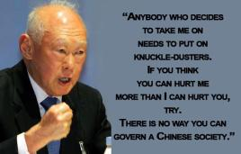 Lee Kuan Yew Singapore Chinese
