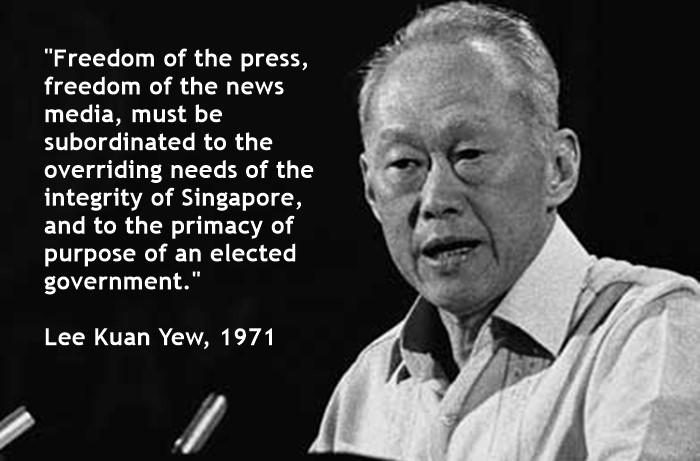 LKY-media-freedom-quote