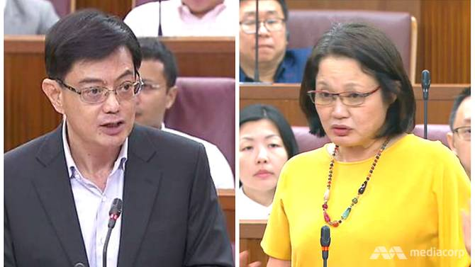 heng-swee-keat-sylvia-lim-in-parliament