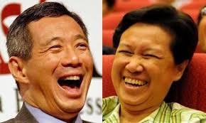 lhl ho ching laughing